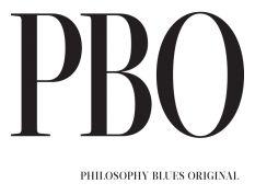 Logo for tøjmærket PBO